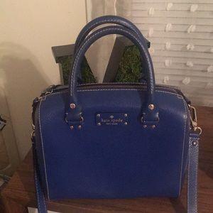 Kate spade cobalt blue handbag